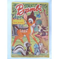 Raro Album Do Bambi!!! Brinquedo Antigo Estrela