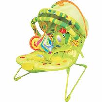 Cadeirinha Bebê Descanso Musical Vibratória Frutinhas Dican