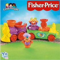 Fisher Price Little People Trem Musical Circus
