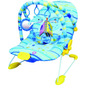 Cadeira Cadeirinha Bebê Descanso Musical Vibratoria Azul