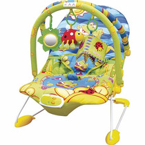 Cadeirinha Bebê Descanso Musical Vibratória Alegria Dican