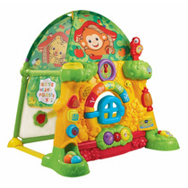 Vtech Grow And Discover Tree House Toy Tent Casa Na Árvore