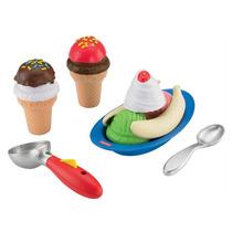 Brinquedo Bebe Fisher Price Kit Sorvete Mágico