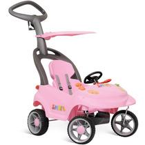 Carrinho Smart Baby 3 Em 1 Rosa 527 Bandeirante Frete Grátis
