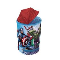 Cesto De Brinquedo Infantil Marvel Avengers Homem De Ferro