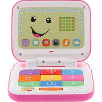 Novo Laptop Aprender Brincar Rosa Fisher Price