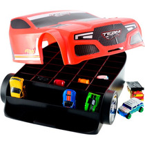 Maleta Hot Wheels Torque Twíster P/44 Carrinhos - Astro Toys