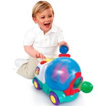 Brinquedo Caminhão Empurra E Pula Bright Starts Bebe Store