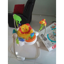 Pula Pula Jumperoo Fisher Price Para Bebê Frete Gratis