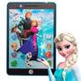 Tablet Infantil Princesas Frozen 3d Educativo + Brinde B16