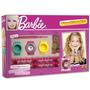 Pulseiras De Elástico Barbie Com Relógio - Fun