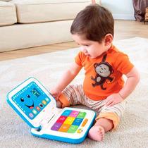 L&l Novo Laptop Aprender Brincar Azul Fisher Price
