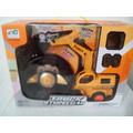 Trator Escavadeira Rc Braço Hidraulico 5 Canais A6