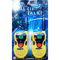Rádio Walk Talk (walkie Talkie) Infantil - Amarelo