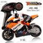 Mini Moto R/c - Jxd-806 - 1:16 - 2.4ghz * Frete Grátis*