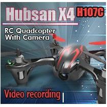 Quadricóptero Hubsan X4 H107c - Camera 4ch - V959 Drone V912