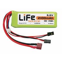 Bateria Life 6.6v 2100mah 10c Hobbico Lifesource Hcam6435