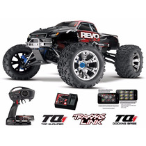 Traxxas Revo 3.3 4wd Monster Truck 1/8 Tqi 2.4ghz Com Ré