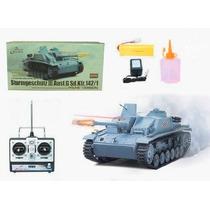 Tanque Rc Esc:1/16 Esteiras Metal/infra/sons/fumaça