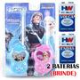 Walk Talk Infantil Frozen + Brinde 2 Baterias Walkie Talkie