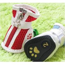 Botas Calçados Com Zíper Para Cães Pequeno A Médio Porte