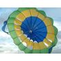 Paraquedas Voo Duplo Camping Parasail Puxado Lancha Jetski