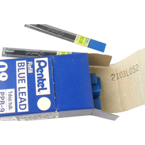 Grafite - Mina - Pentel 0.9 - Azul - Made In Japan - Ppb-9