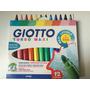 Canetas (12) Giotto Turbo Maxi - Made In Italy