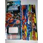 Justice League - Caixa De Lápis De Cor