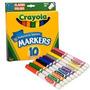 Canetinha Crayola Com 10 Cores Importada (427)