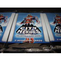City Of Heroes Collectible Card Game - 11 Cards - Booster