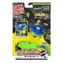 Beyblade Eletrônico Electro Spark Tornado L-drago - Hasbro
