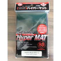 Kmc Hyper Mat Verde/green Shield Sleeve Magic The Gathering