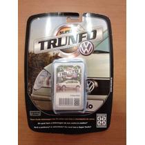 Jogo De Cartas Super Trunfo Grow Volkswagen Vw Polo Golf Gol