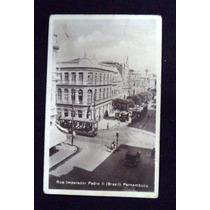Cartão Postal Recife Imp.pedro Bonde Pernambuco 1931