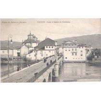 Cartão Postal Chaves Portugal Ponte E Bairro Da Madalena