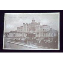 Cartão Postal Recife Pernambuco Estação Central