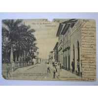Bilhete Postal Paranaguá Paraná