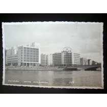 Recife Cartão Postal Antigo Rua Do Sol Pernambuco