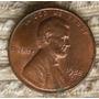 Moeda 1 Cent De Dolar Americano - 1988 - Rara