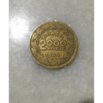 Moedas Antigas 2.000 Reis Ano 1939 Floriano Peixoto