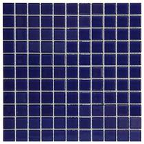 Pastilha De Vidro Azul 30cm X 30cm - Caixa Com 11 Placas