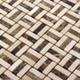 Mosaico De Pedras Naturais - Pastilhas De Vidro