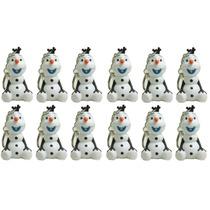 12 Chaveiros Frozen - Olaf Com Led E Som Lembrança Festa