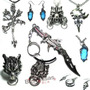 Colares Anime Final Fantasy Sephiroth Squall Vincent Crystal