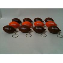 Chaveiro Bola Futebol Americano Pacote Com 12 Pçs
