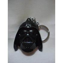 Chaveiro Darth Vader Star Wars Em Metal Mascara