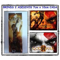 Colar God Of War + 2 Adesivos Gratis Anime
