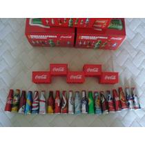 Mini Garrafinhas Coca Cola Promoção Coleção Completa 2014