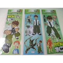 Ben 10 Kit Adesivo Stickers C/ 12 Cartelas
